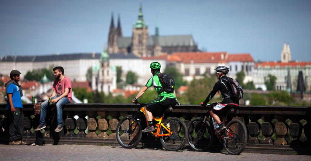 biking prague