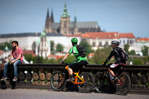 biking prague